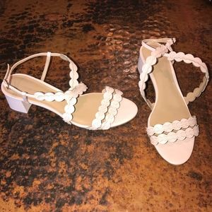Banana Republic Pink Blush Heel Sandals - Size 8